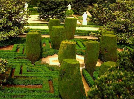 Los jardines de sabatini de tuinen van sabatini for Jardines sabatini