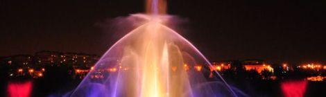 Parque Europa Fontein Licht spektakel