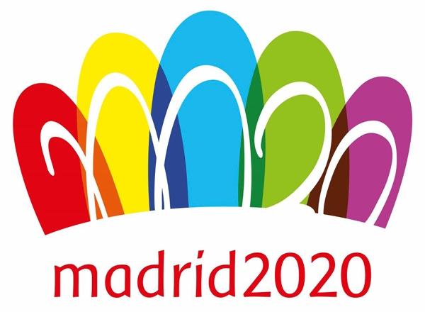 El logo con el que Madrid aspiraba a los Juegos Olímpicos de 2020.