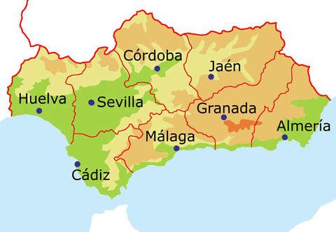 Andalusië en de Provincies