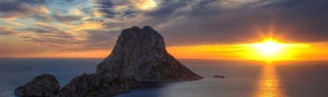 Es Vedra Zonsondergang Ibiza
